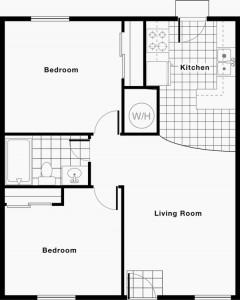 Marianne Apartments Floor Plan